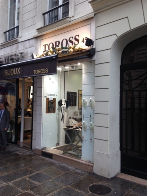 Commercial property sale shop Paris 8ème 239 000€ - Picture 2