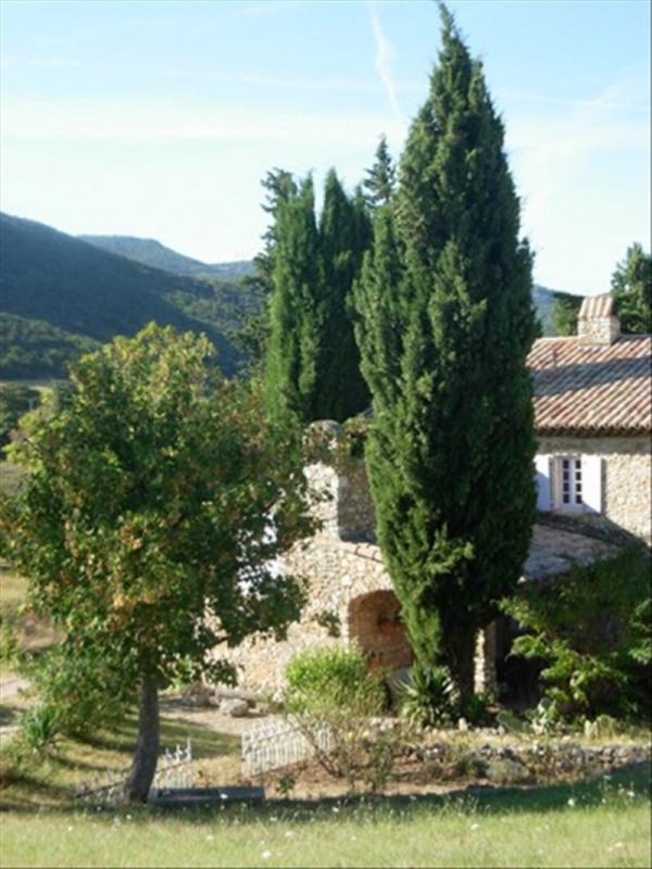 Vente de prestige maison / villa Cote ardeche proche mtl 698000€ - Photo 1