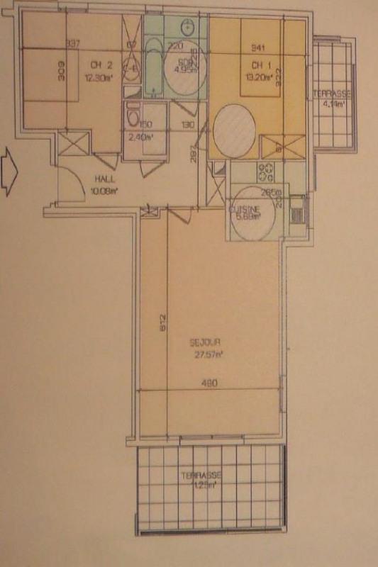Vente appartement Ste maxime 526000€ - Photo 2