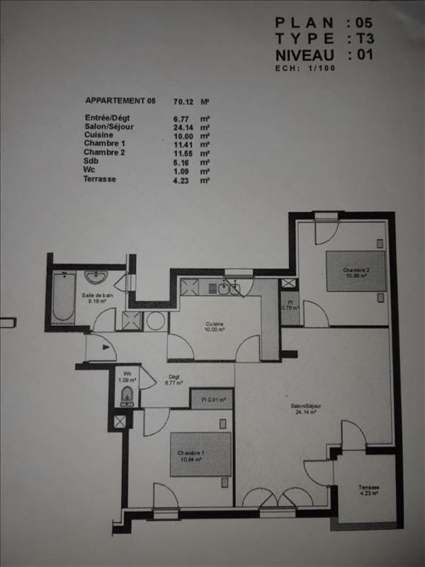 Location appartement St nazaire 568€ CC - Photo 1