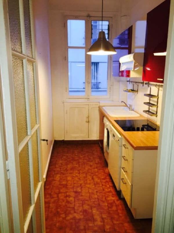 Rental apartment Paris 16ème 1800€ CC - Picture 2