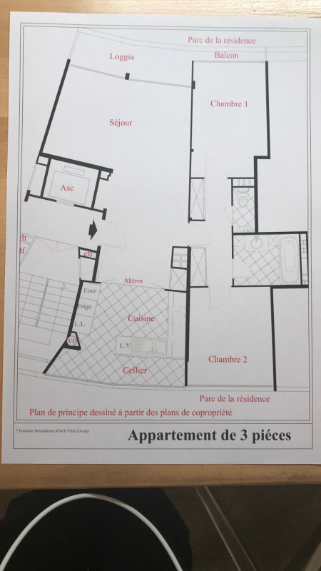 Rental apartment Ville-d'avray 1 465€ CC - Picture 2