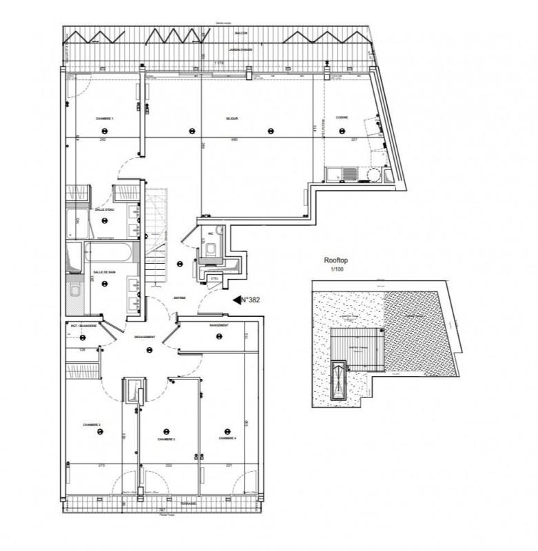 Vente de prestige appartement Paris 18ème 2200000€ - Photo 1