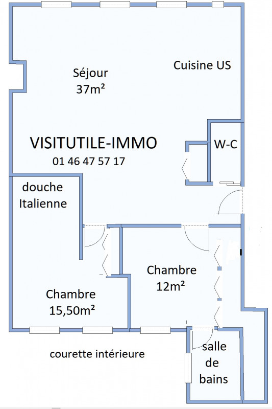 Vente appartement Paris 6ème 1 290 000€ - Photo 14