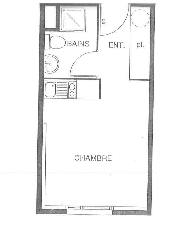 Location appartement Nantes 410€ CC - Photo 5