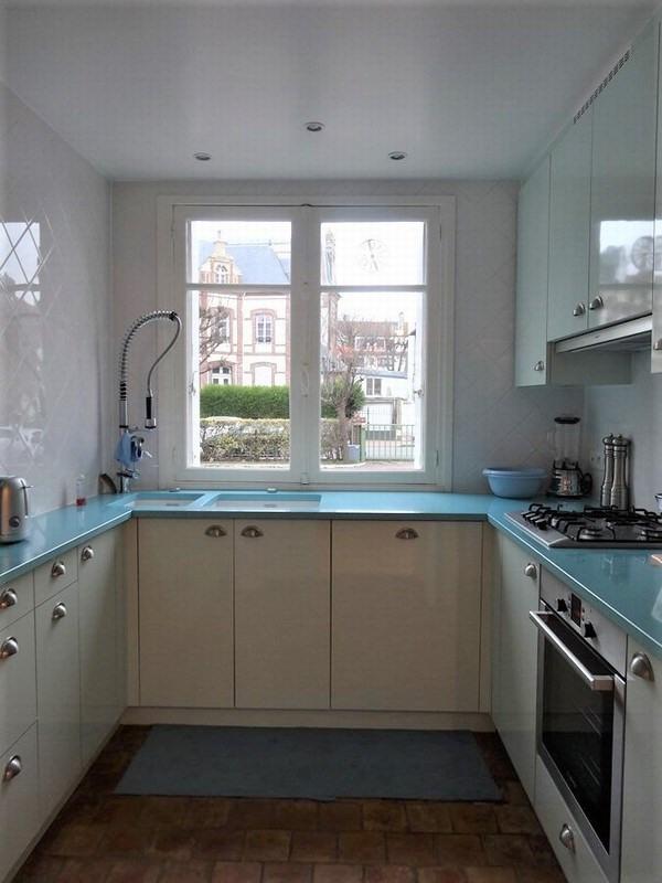 Verkoop van prestige  appartement Deauville 371000€ - Foto 7