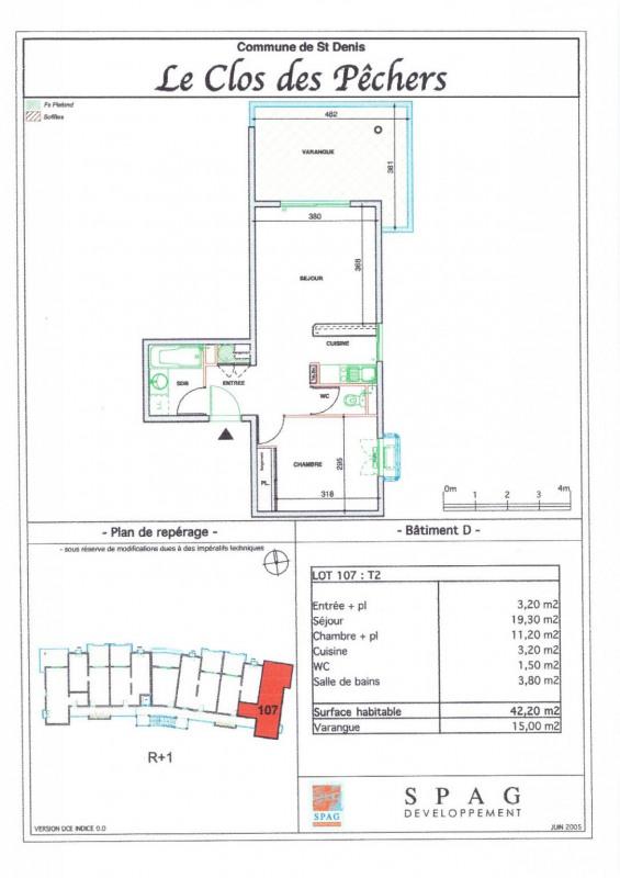 Location appartement Ste clotilde 570€ CC - Photo 8