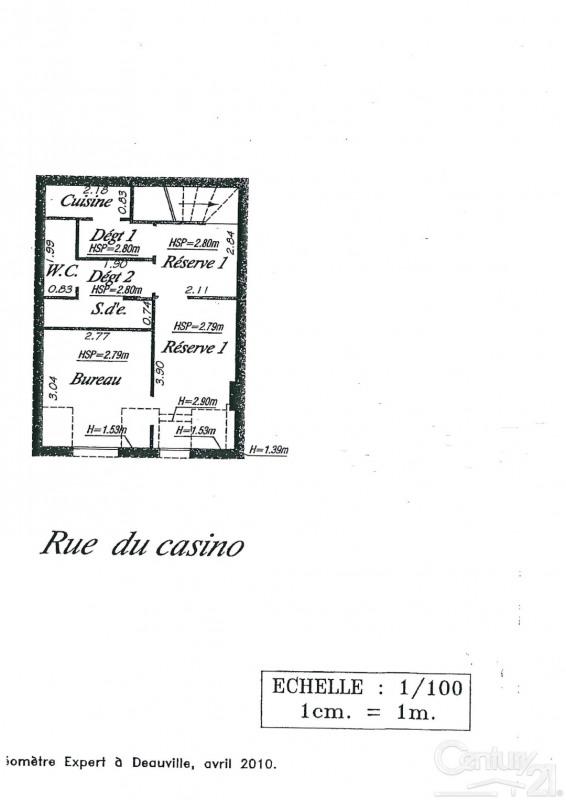 Revenda armazém Deauville 199000€ - Fotografia 4