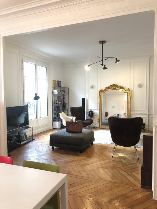 Rental apartment Paris 17ème 3 350€ CC - Picture 1