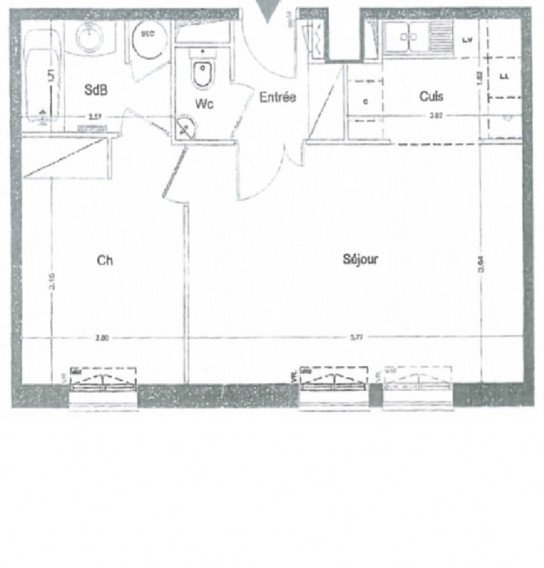 Vente appartement La garenne colombes 349000€ - Photo 4