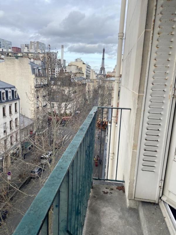 Rental apartment Paris 15ème 1425€ CC - Picture 1