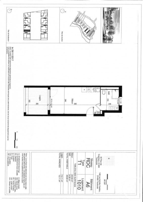 Sale apartment Toulouse 94 500€ - Picture 3