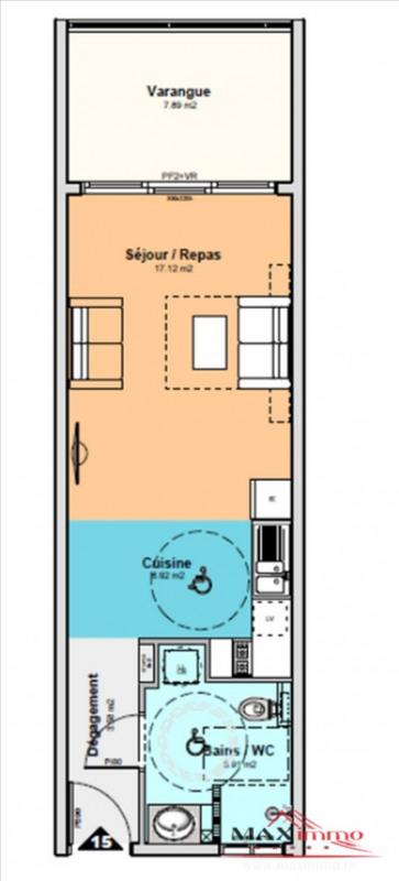 Vente appartement St denis 160100€ - Photo 1