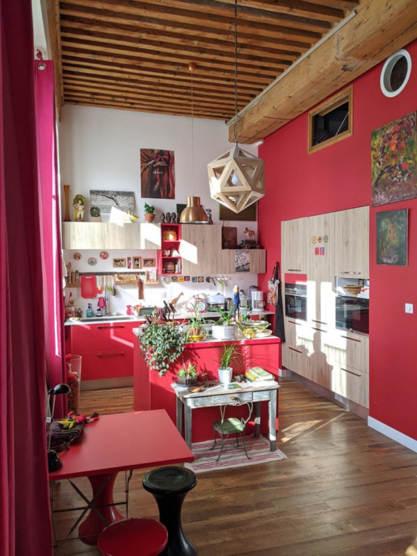 Verkoop  appartement Lyon 4ème 319000€ - Foto 5