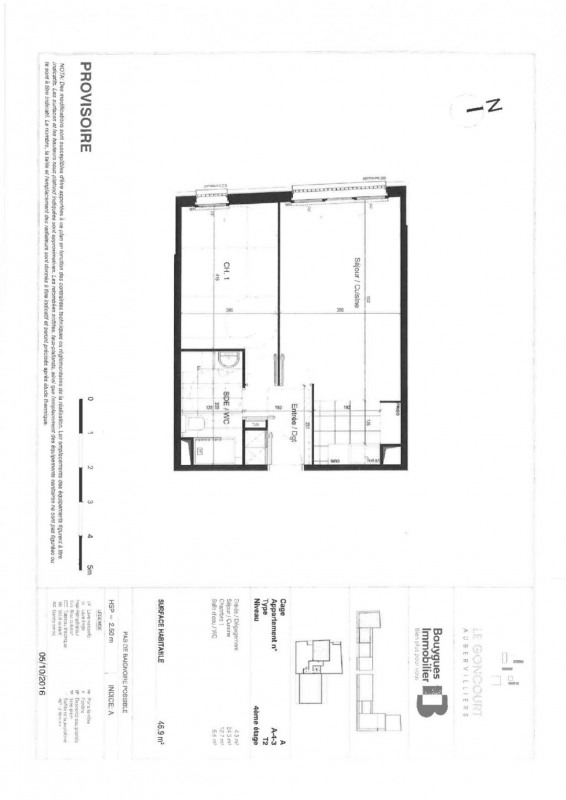 Location appartement Aubervilliers 890€ CC - Photo 1