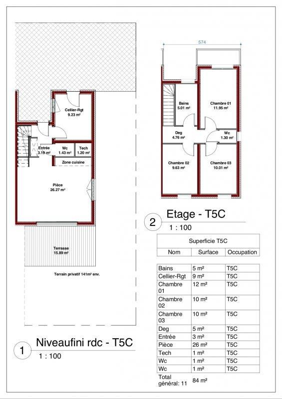 Venta  casa Illkirch graffenstaden 339000€ - Fotografía 5