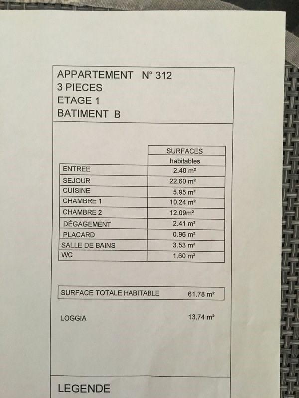 Vente appartement Chelles 231000€ - Photo 14