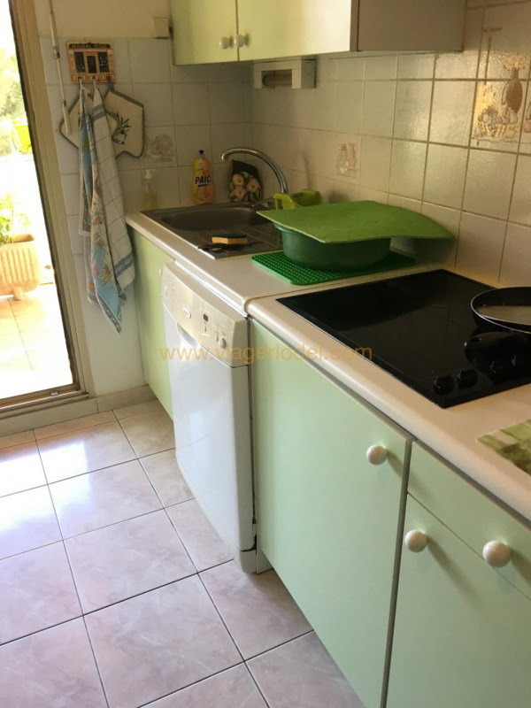 Lijfrente  appartement Marseille 6ème 75000€ - Foto 4