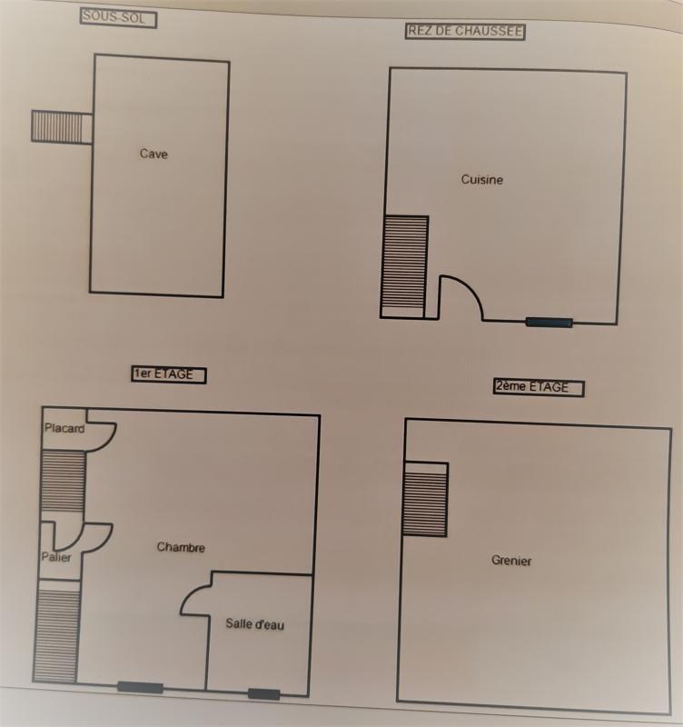 Sale house / villa Beaumont sur sarthe 34990€ - Picture 4