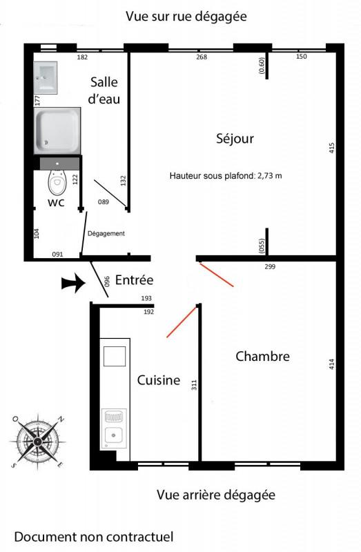 Location appartement Arcueil 855€ CC - Photo 3