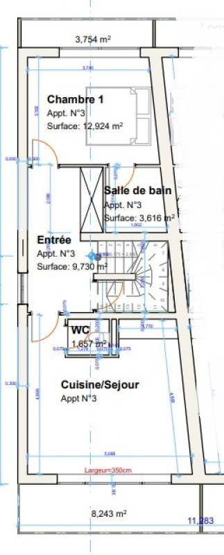 Sale apartment Annemasse 289000€ - Picture 4