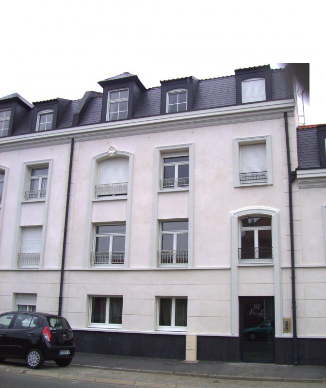 Rental apartment Aire sur la lys 625€ CC - Picture 1