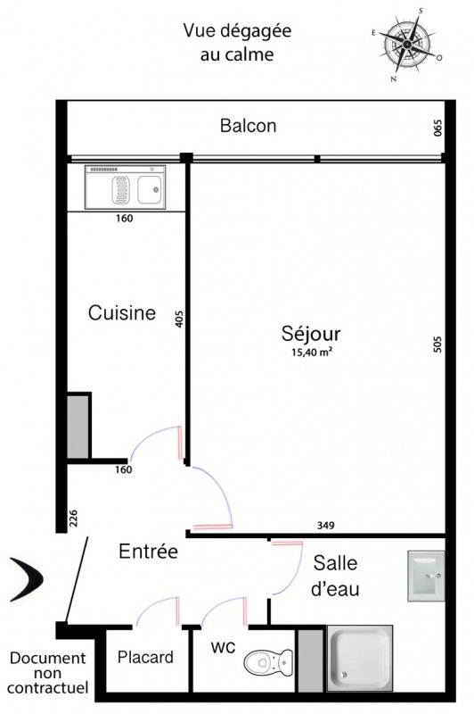 Location appartement Paris 10ème 990€ CC - Photo 3