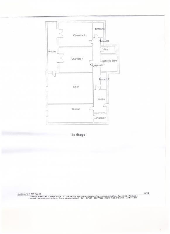 Vente appartement Plaisir 189000€ - Photo 2