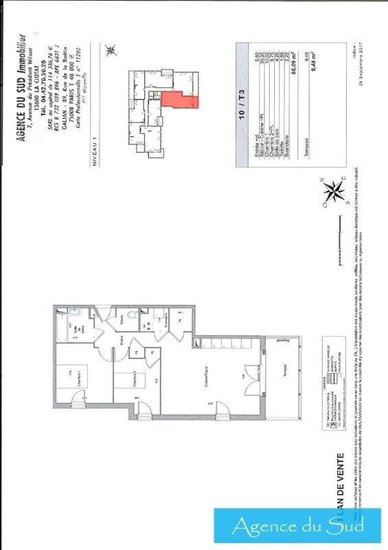 Produit d'investissement appartement La ciotat 319500€ - Photo 1
