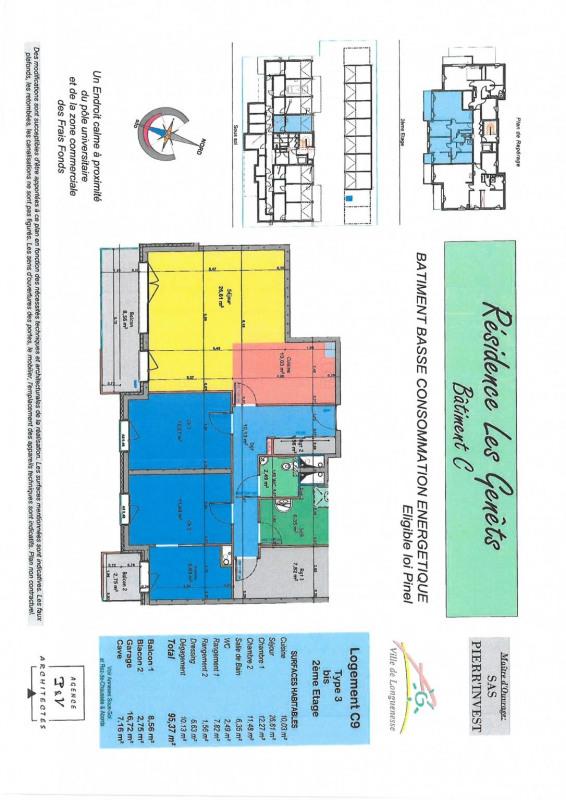 Vente appartement Longuenesse 303000€ - Photo 2