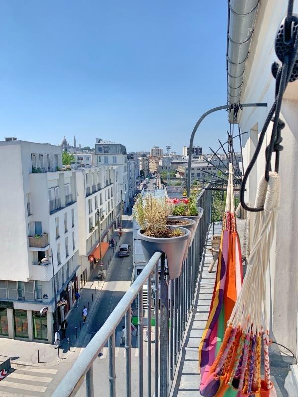 Sale apartment Paris 19ème 419000€ - Picture 3