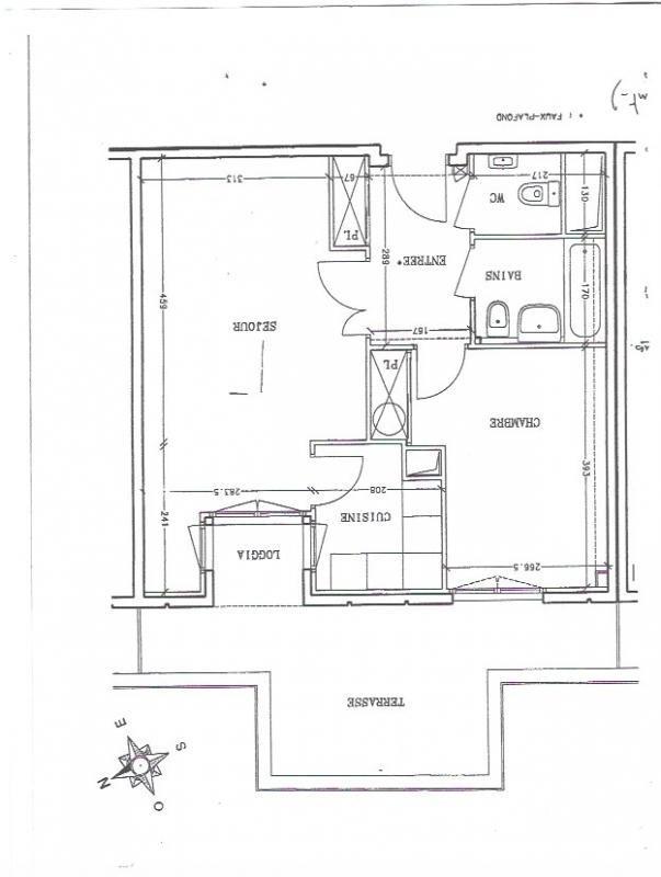 Verkoop  appartement Versailles 211645€ - Foto 7