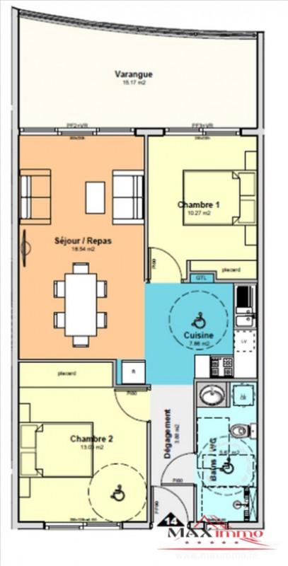 Vente appartement St denis 259600€ - Photo 1