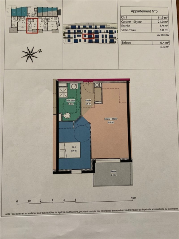 Vente appartement Gap 142000€ - Photo 2