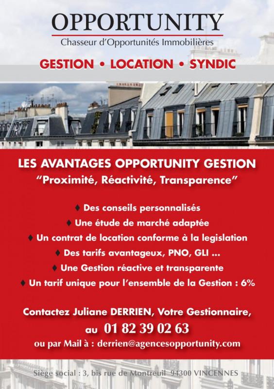Location appartement Joinville-le-pont 1100€ CC - Photo 9