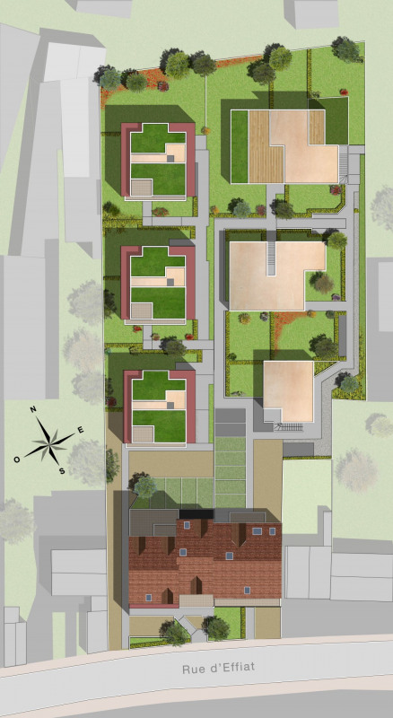 Vendita nuove costruzione Chilly-mazarin  - Fotografia 3