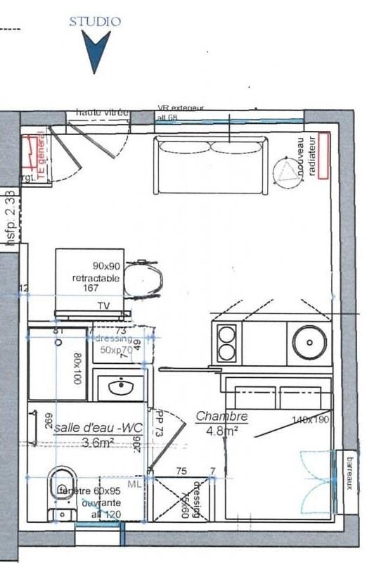 Location appartement Hauterives 320€ +CH - Photo 1