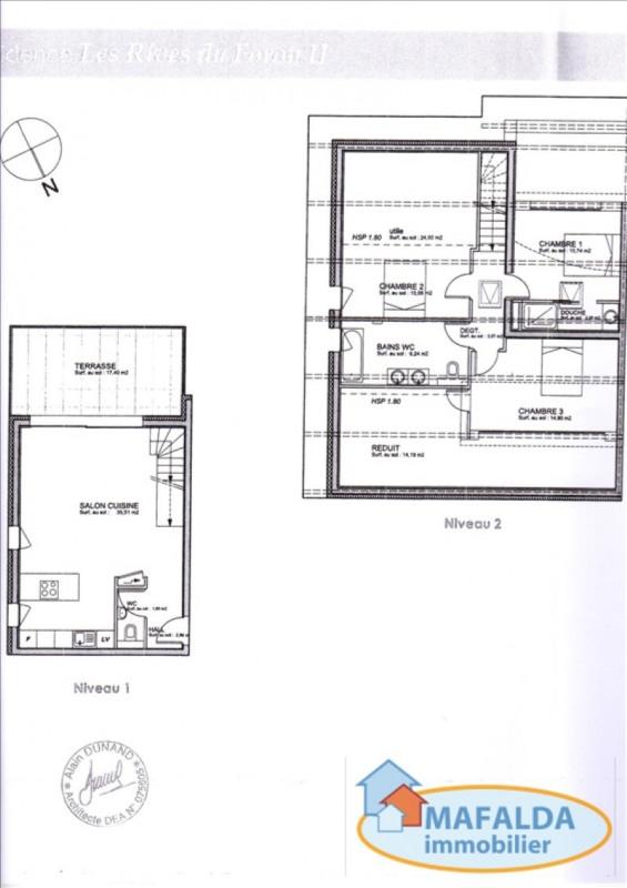 Vente appartement Amancy 346000€ - Photo 3