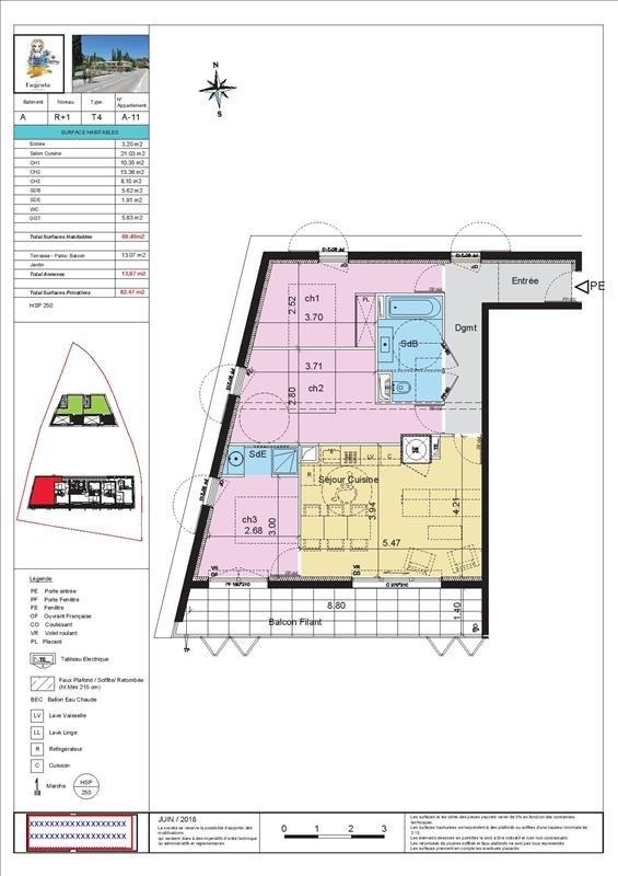 Sale apartment Les issambres 448100€ - Picture 3