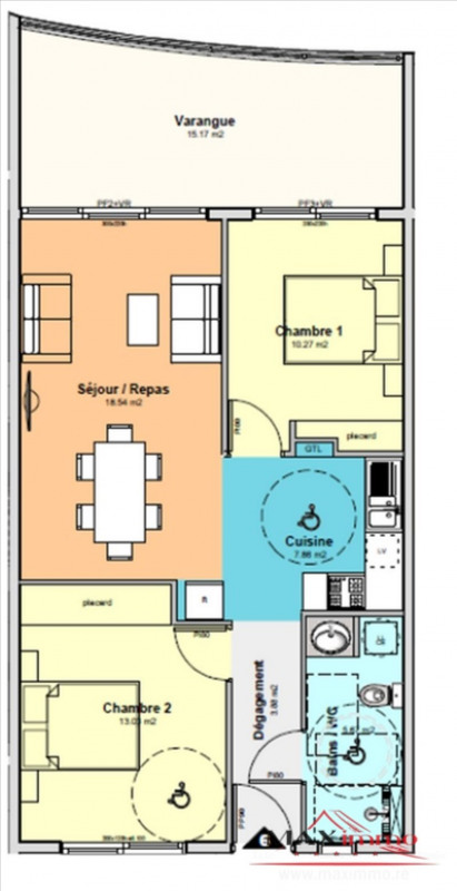 Vente appartement St denis 247800€ - Photo 2