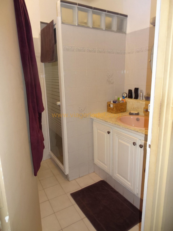 Verkauf auf rentenbasis mietshaus Poussan 76000€ - Fotografie 6