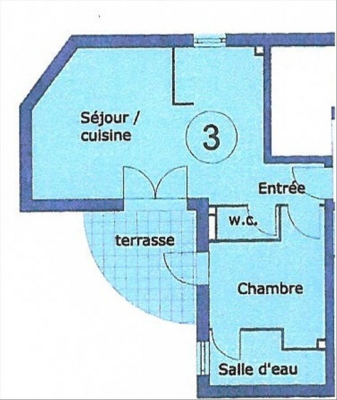 Rental apartment Orsay 907€ CC - Picture 9