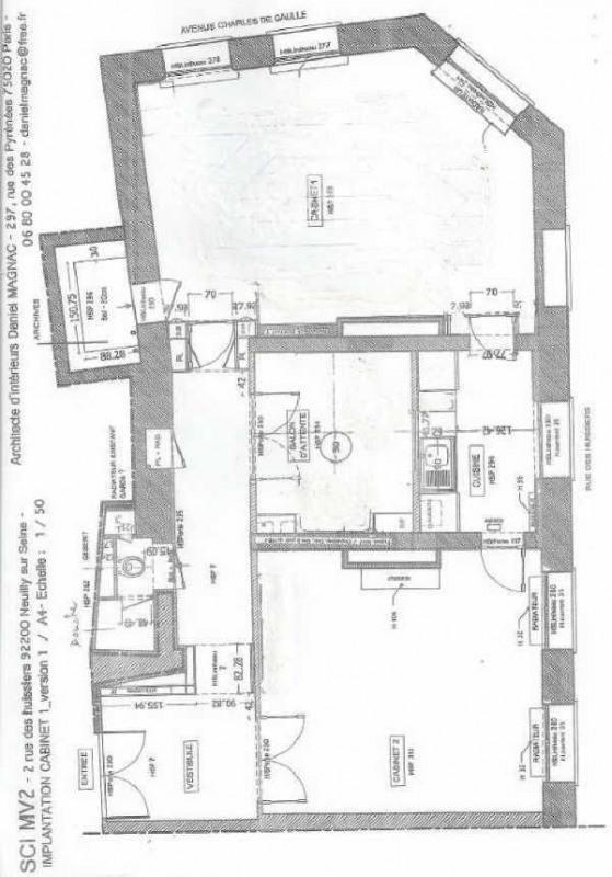 Rental apartment Neuilly sur seine 2805€ CC - Picture 2