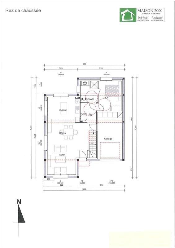 Verhuren  huis Janze 850€ CC - Foto 3
