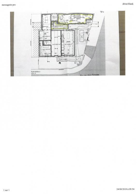 Rental empty room/storage Cabanac-et-villagrains 490€ HC - Picture 6