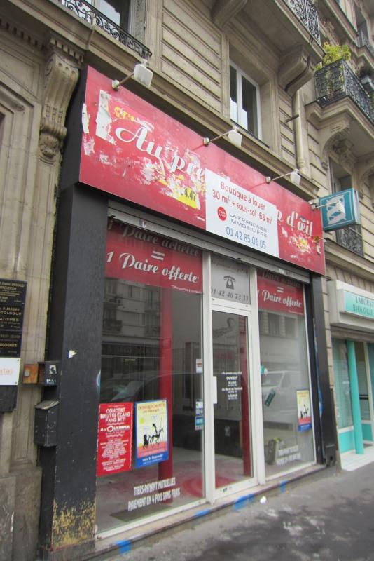 Rental shop Paris 10ème 1820€ HC - Picture 1