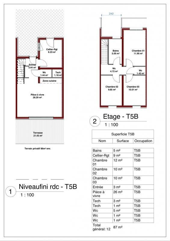 Venta  casa Illkirch graffenstaden 339000€ - Fotografía 6