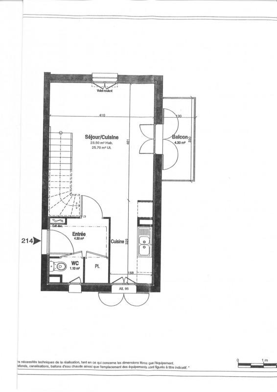 Rental apartment Villiers sur orge 910€ CC - Picture 10