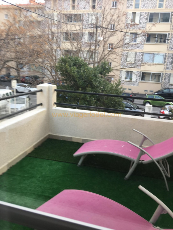Vendita nell' vitalizio di vita casa Toulon 124000€ - Fotografia 7