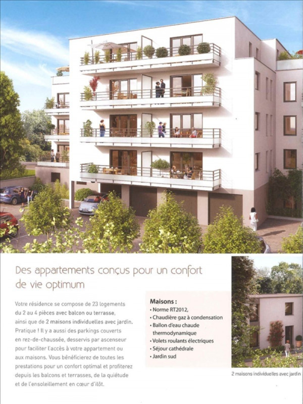 Produit d'investissement appartement Bethune 132 000€ - Photo 1